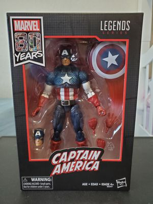 Marvel Legends 80th Anniversary Captain America for Sale in Fresno, CA