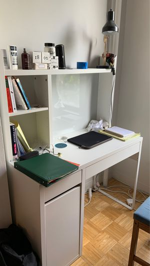 Desk base with shelf attachment for Sale in Brooklyn, NY