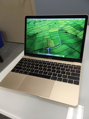"EXCELLENT // 12"" Apple Macbook GOLD 2017 // Intel i7 //8gb // 512gb SSD // with charger for Sale in Hoffman Estates, IL"