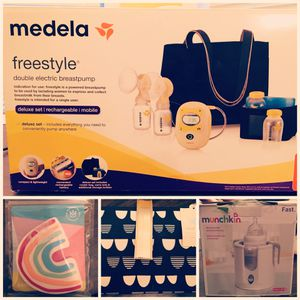 Medela Deluxe Freestyle Pump Package Deal for Sale in Bell Buckle, TN