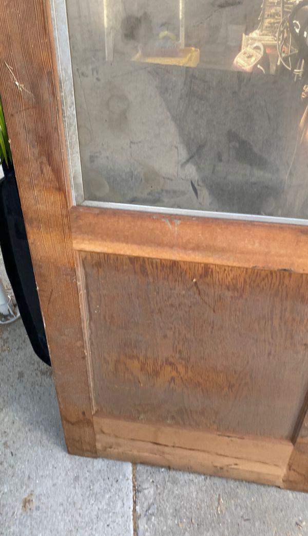 Exterior back door blank