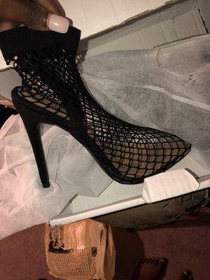 Brand new fishnet heels for Sale in Falls Church, VA