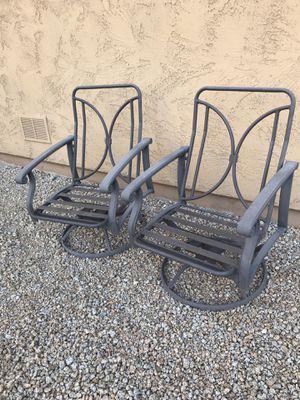 Paddy O Club Swivel Rocker Outdoor Chair Frames (2) for Sale in Phoenix, AZ
