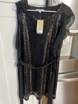 Michael Kors Black Sequin Dress -Size Medium (NEW) for Sale in Rosemont, IL