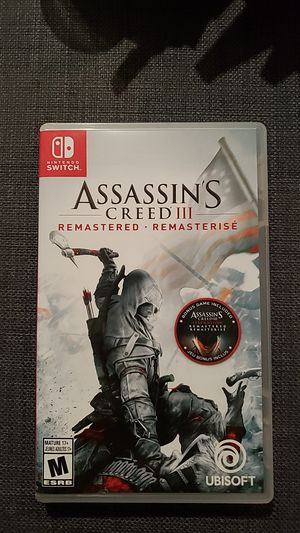 Assassin's Creed III 3 (Switch) for Sale in Artesia, CA