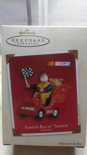 Santa's Racing Sleigh Ornament for Sale in Fort Lauderdale, FL