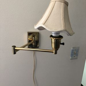 Vintage Wall Light Flexible Arm for Sale in Palm Beach, FL