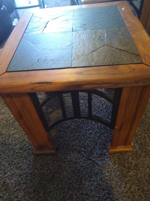 It's a set of three tables, 1 coffee table, two end tables. for Sale in Mesa, AZ