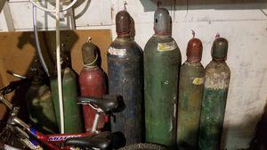 Welders Oxigen and Hydrogen tanks. for Sale in Mountlake Terrace, WA