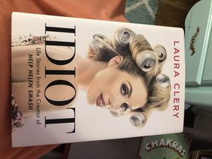 "Laura Clery hard cover book ""idiot "" for Sale in Newport News, VA"