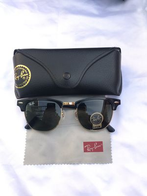 Ray ban clubmaster 3016 sunglasses for Sale in San Francisco, CA
