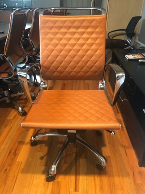 Brown Leather Office Chairs for Sale in Melrose, TN
