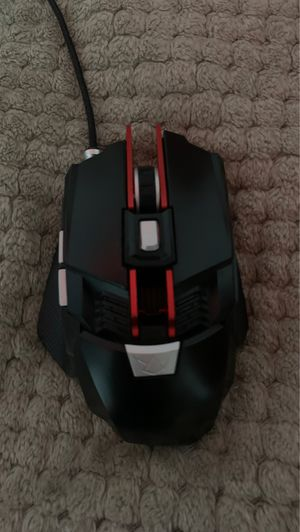 Black web RGB gaming mouse for Sale in Nesquehoning, PA