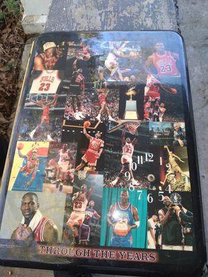 Michael Jordan antique clock for Sale in Mobile, AL