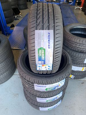 215/45/17 New set of tires installed for Sale in Ontario, CA