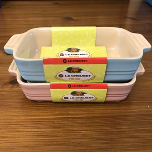 """Le Creuset Pink & Blue 7"""" Baking Dishes for Sale in San Antonio, TX"""