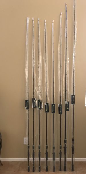 8 new irod's 3 Spinning rods 5 Baitcasters 2 for swimbaits bass Fishing for Sale in Menifee, CA