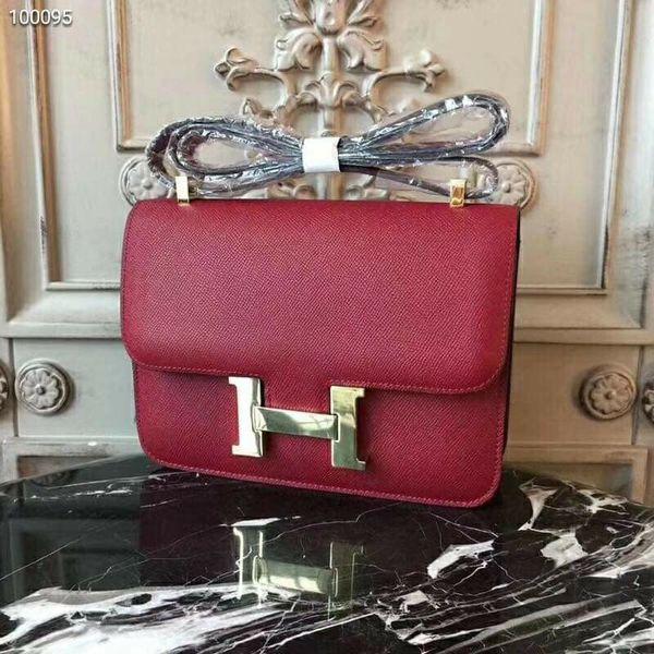 Hermes leather Shoulder bag
