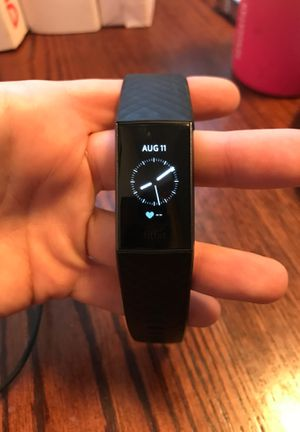 Fitbit Charge 3 HR monitor & activity tracker for Sale in Boulder City, NV