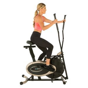 Title: Exerpeutic GOLD XL9 Aero Elliptical and Exercise Bike Dual Trainer for Sale in Houston, TX