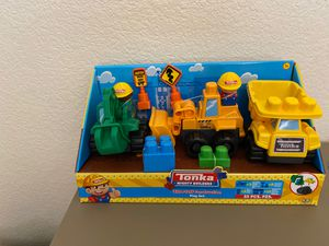 Tonka Mighty Builders Ultra-Tuff Construction Play Set for Sale in Tucson, AZ