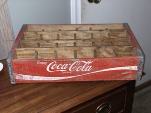 Antique Vintage Coca Cola Bottle Wood Tray for Sale in Bel Air, MD
