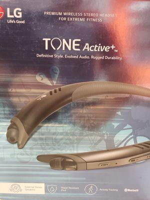 Lg active+ wireless headphones for Sale in Warwick, RI