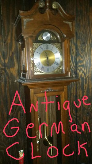 Antique grandfather clock from west Germany for Sale in Berwyn, IL