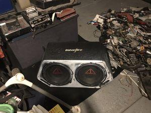 """12"""" addictive audios interfire box for Sale in Tulare, CA"""