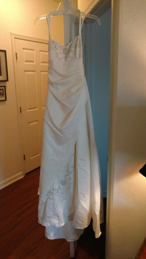 Wedding dress by Jodi Kristopher size 3/4 for Sale in Manassas, VA