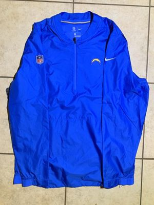 Nike NFL LA Chargers 1/4 Zip Windbreaker Jacket Size L On The Field Coaches for Sale in Compton, CA