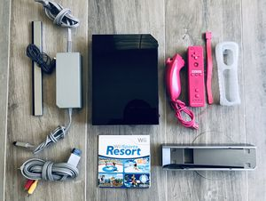 Nintendo Wii with Wii Sports Resort for Sale in Aliso Viejo, CA