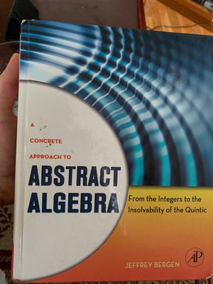 A Concrete Approach to Abstract Algebra for Sale in Orlando, FL