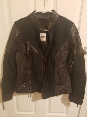 Womens leather Harley Davidson jacket for Sale in Edwardsville, IL