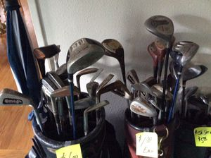 Old golf clubs and irons. for Sale in Orlando, FL