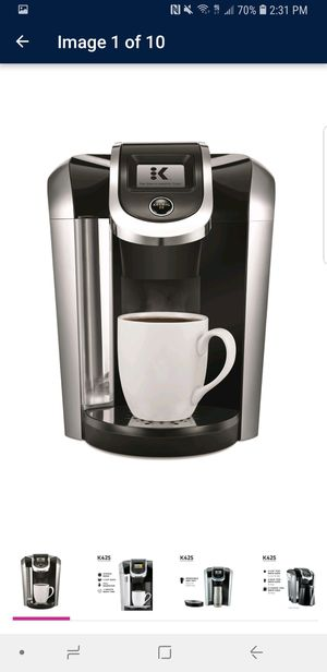 Coffee Maker Keurig K425 Single Service, K-cup Pod for Sale in Manassas, VA