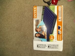 Mattress and air pump for Sale in Houston, TX