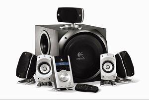 Logitech THX 5.1 audio speaker system for Sale in Littleton, CO