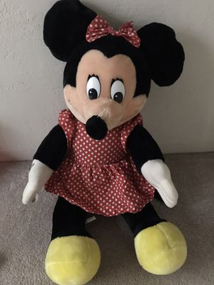 Giant Minnie Mouse Stuffed Animal for Sale in Alameda, CA