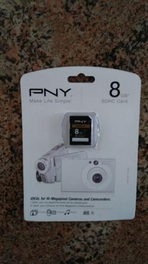 PNY 8GB SDHC Card for Sale in Melbourne Village, FL
