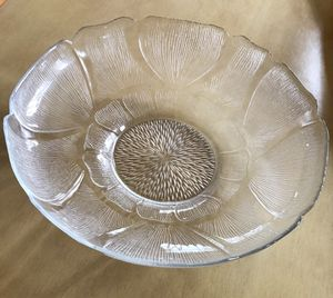 "CRYSTAL SERVING 12"" DISH for Sale in Fairfax, VA"