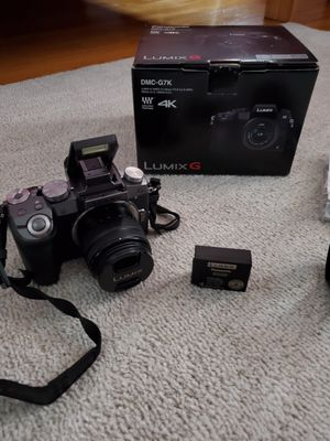 Panasonic Lumix G7 Mirrorless dslr camera for Sale in Queens, NY
