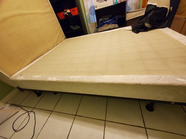 Pick up ASAP Queen box spring and frame free