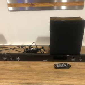 Samsung Sound Bar And Subwoofer for Sale in Wakefield, MA