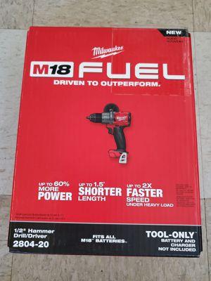 Milwaukee m18 fuel taladro martillo 🔨 NUEVO!!!! Milwaukee m18 fuel hammer 🔨 drill NEW!!!! for Sale in Chicago, IL