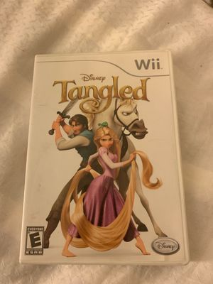 Disney Tangled Wii game for Sale in West Hills, CA