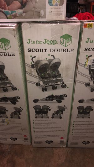 Brand New Sealed Jeep Scout Double Stroller for Sale in Thomasville, NC