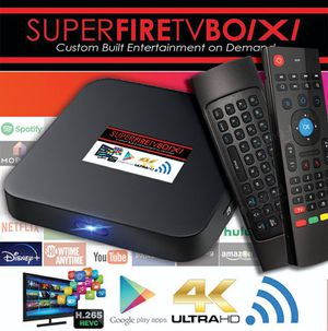 "SuperFire TV Box ""No Stick"" for your Entertainment or Bussiness! for Sale in Marietta, GA"