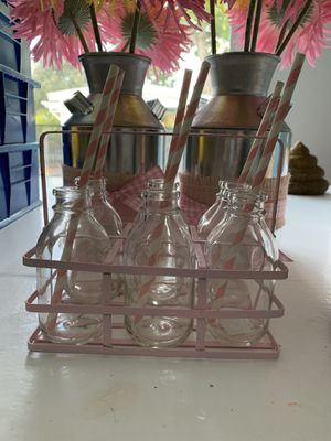 Antique baby glass bottle holder for Sale in Miami, FL