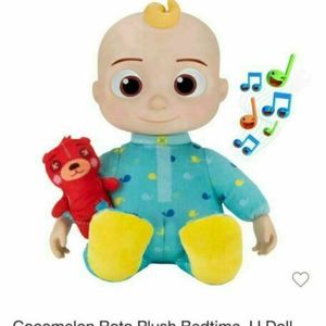 Brand New COCOMELON PLUSH MUSICAL BEDTIME JJ DOLL & TEDDY BEAR YOUTUBE SINGS! for Sale in San Diego, CA